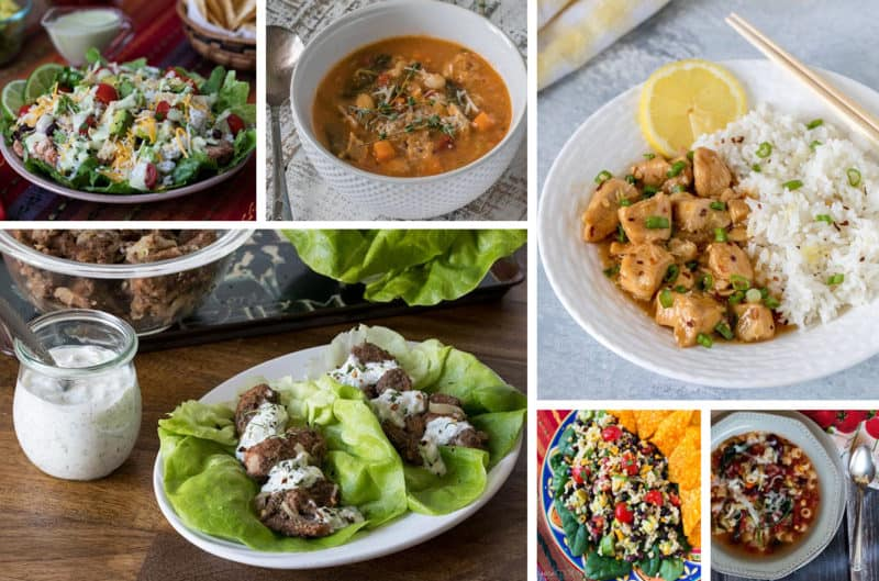 Healthy Instant Pot Recipes | Low-Carb, Low-Fat, and Loaded with Vegetables, these recipes work in any brand of electric pressure cooker