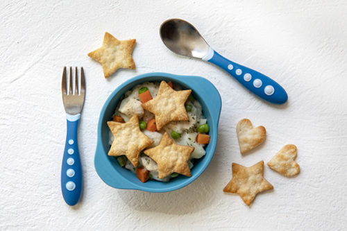 Instant Pot Toddler Food Chicken Pot Pie
