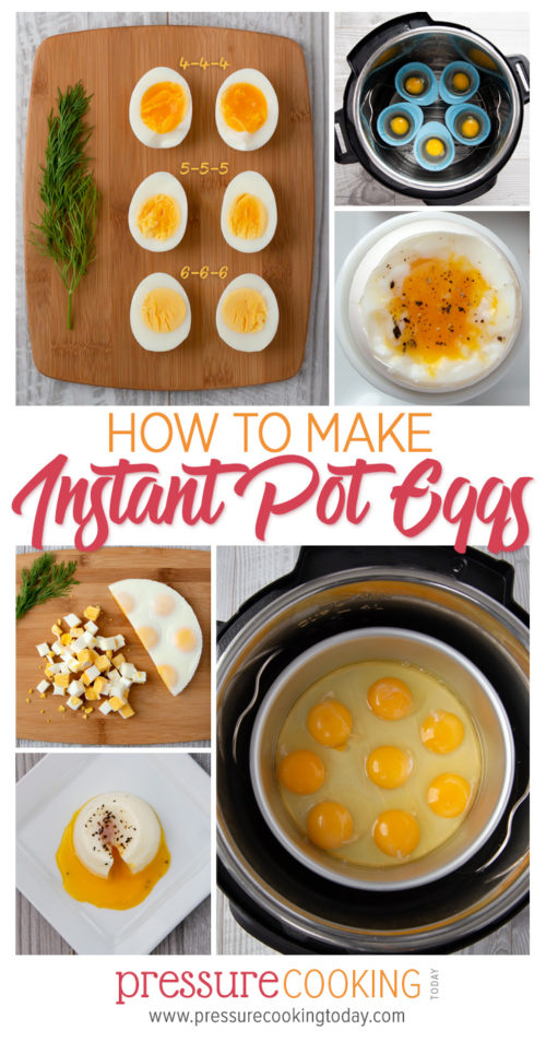 How to Make Eggs in the Instant Pot or Electric Pressure Cooker