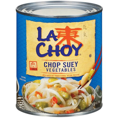 Chinese Chop Suey is NOT American Chop Suey | Canned Chop Suey vegetables
