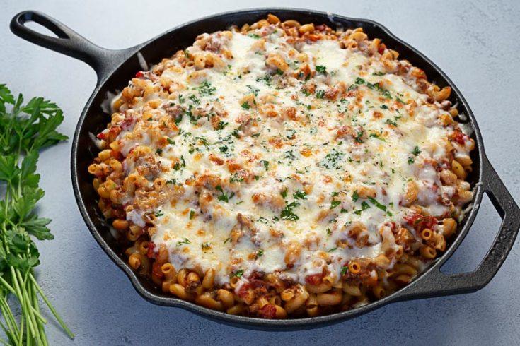 Instant Pot / Pressure Cooker American Chop Suey (aka Beefaroni)