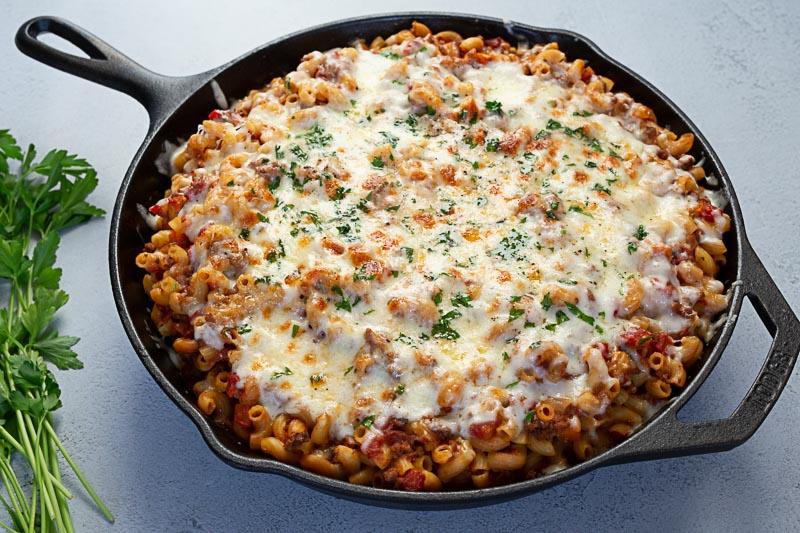 Instant Pot Pressure Cooker American Chop Suey Aka Beefaroni