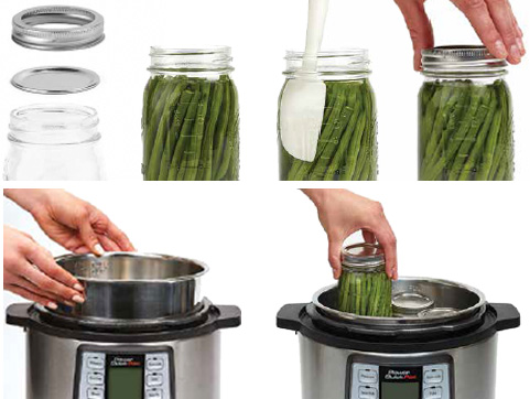 Power Quick Pot user manual canning guide.