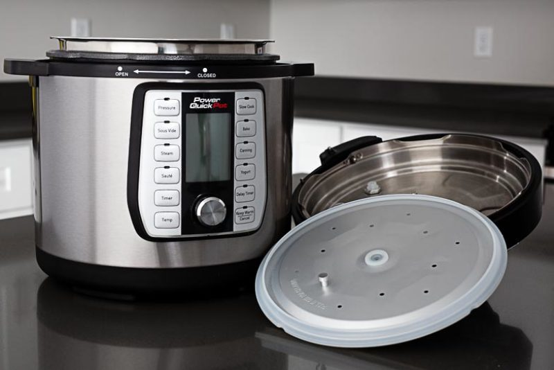 Power Quick Pot pressure cooker and lid with gasket || Review from Pressure Cooking Today