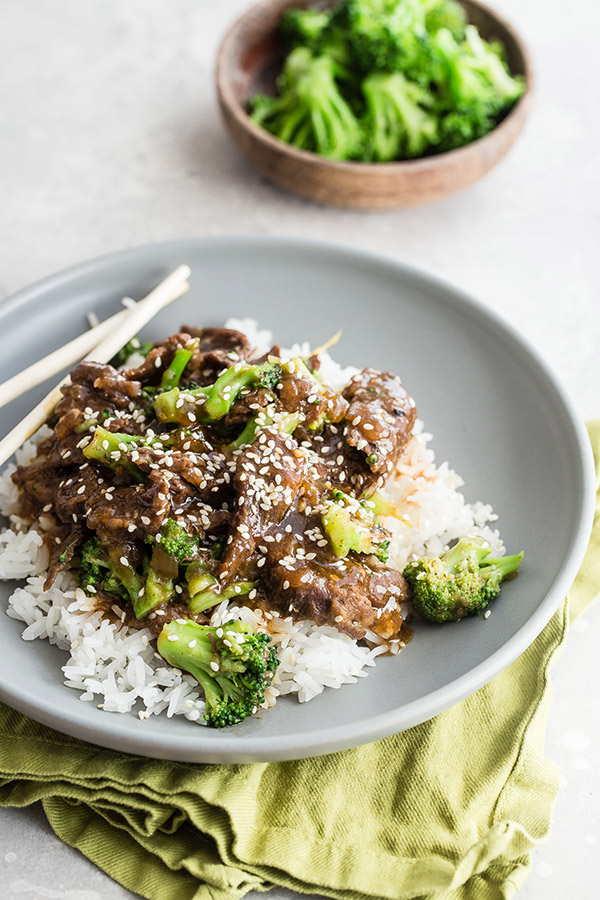 Easy-to-make Beef & Broccoli recipe for Instant Pot or Electric Pressure Cooker