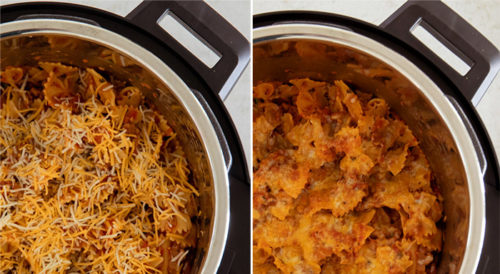 Before and after for the Mealthy Crisp Lid