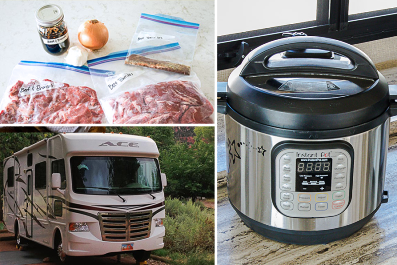 How to Use an Instant Pot or Pressure Cooker in an RV, Trailer, or Motorhome