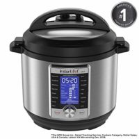 Instant Pot Ultra 6 Quart 10-in-1 Pressure Cooker