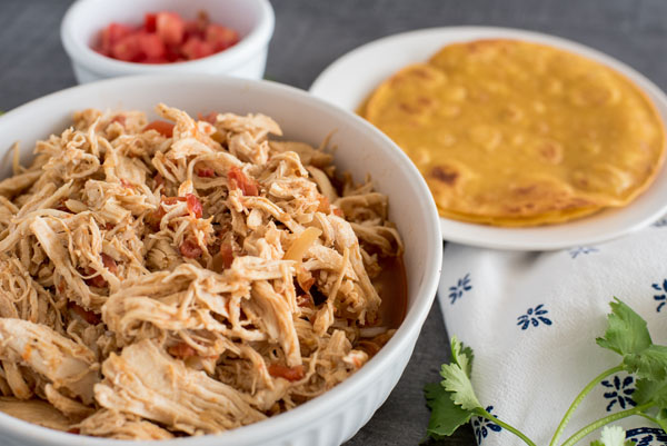 Instant Pot / Pressure Cooker Chicken Taco Filling