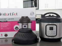 Instant Pot Duo Crisp + Air Fryer.