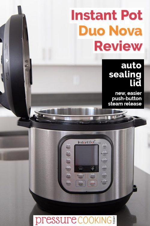 Instant Pot Duo Nova 6 quart pressure cooker review.