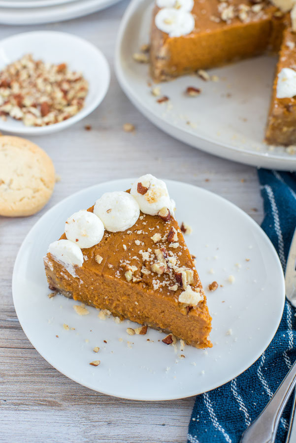 Pressure Cooker / Instant Pot Pumpkin Pie