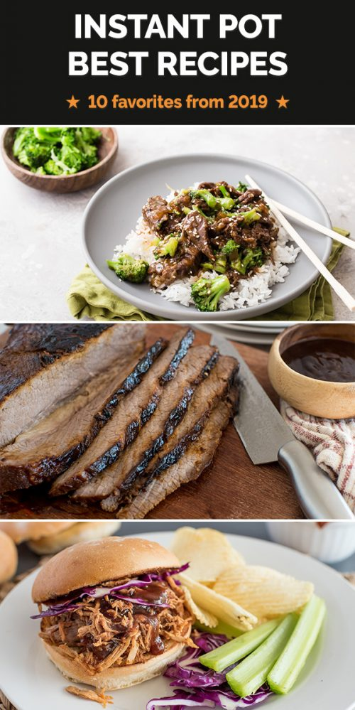 Check out the top pressure cooker recipes during 2019. Enjoy some old favorites and new recipes!