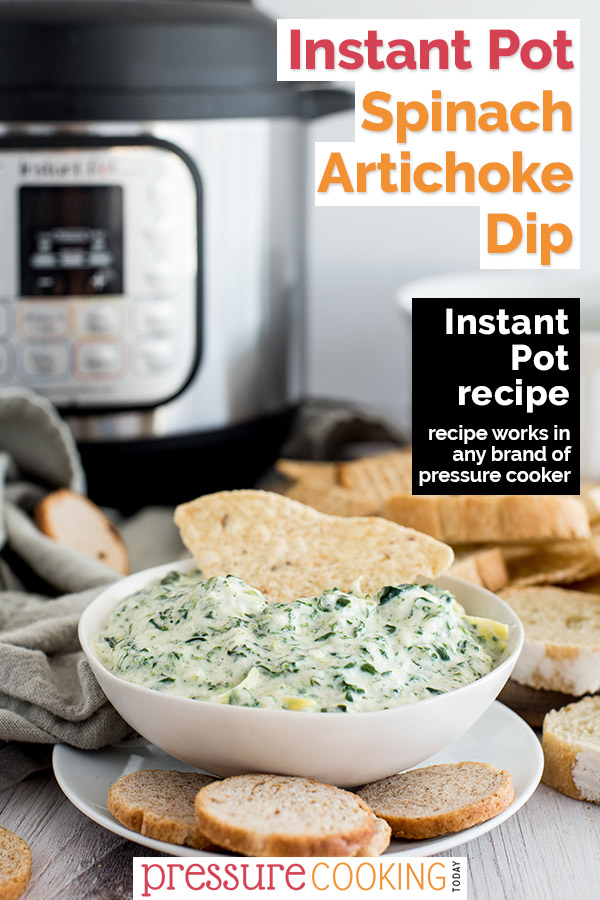 Instant Pot Spinach Artichoke dip is a quick and easy recipe that is perfect for any occasion.