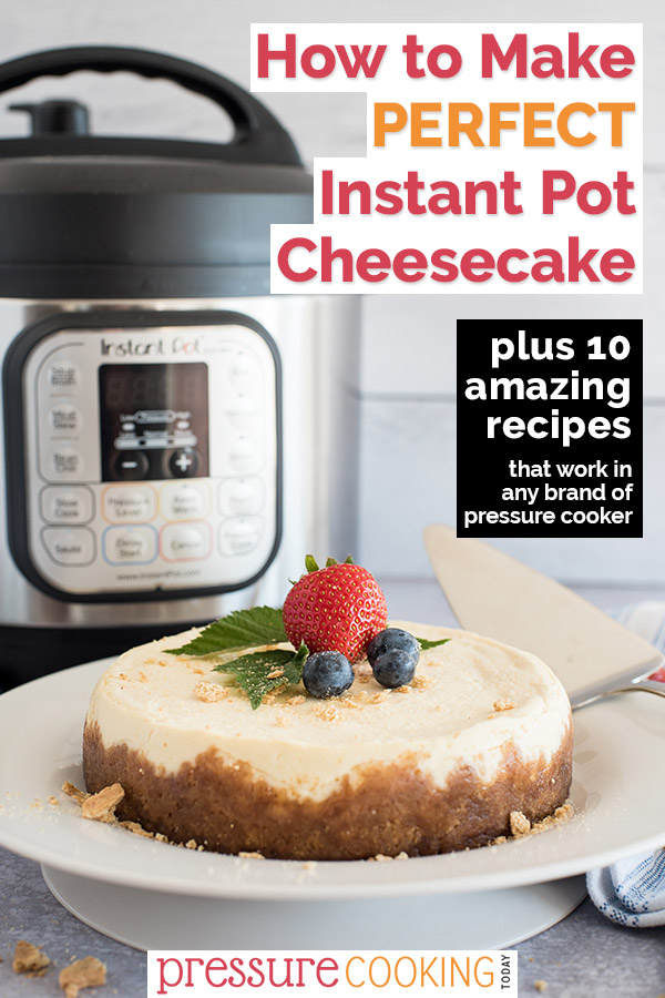 If you haven't tried an Instant Pot cheesecake, you don't know what you are missing.
