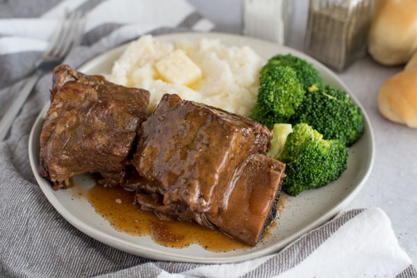 Bone-In Beef Short Rib Instant Pot / Pressure Cooker recipe