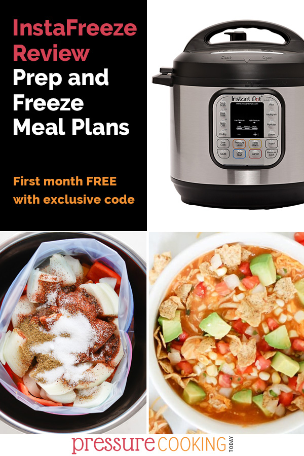 InstaFreeze Meals Review: Easy Prep and Freeze Instant Pot Meal Plans via @PressureCook2da