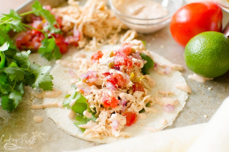 Instant Pot Creamy Salsa Chicken