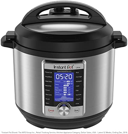 Instant Pot Ultra 6 Quart 10-in-1 Pressure Cooker